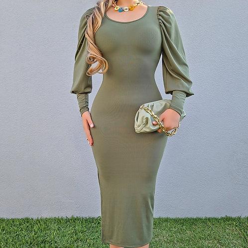 Vestido Byanca verde.