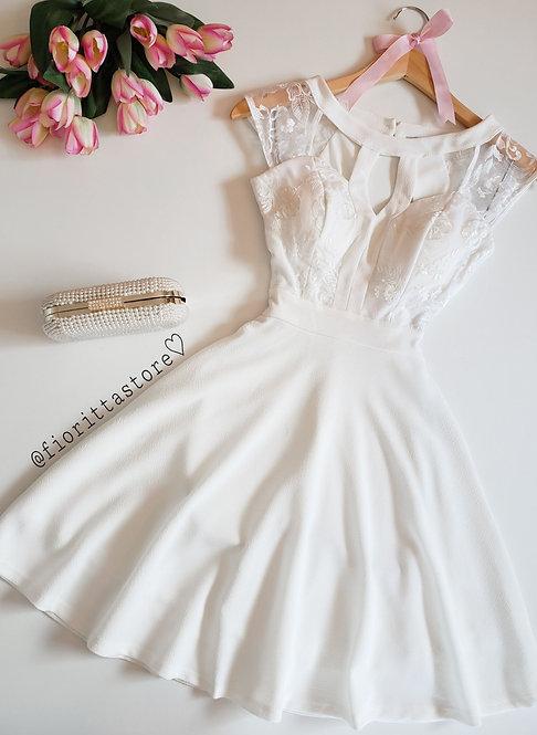vestido branco princess