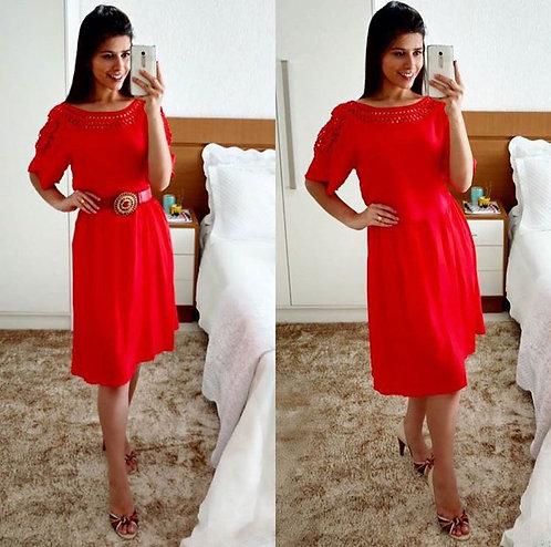 Vestido Adhara Laranja