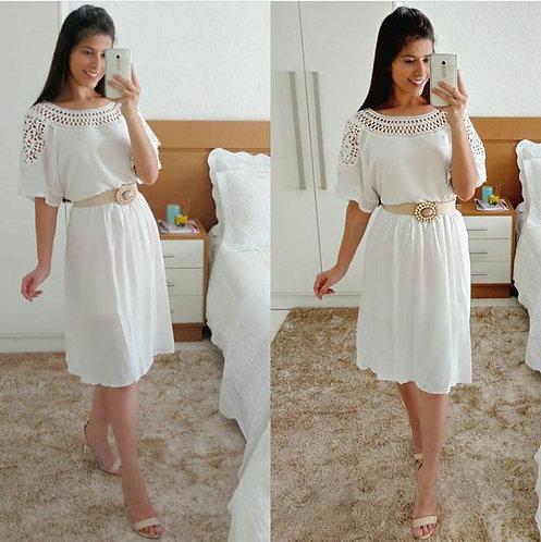 Vestido adhara off white