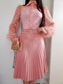 Blusa Cinderela rose