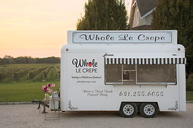 Whole Le Crepe Food Truck, Crepe Catering, Long Island Catering, Crepe Recipes,