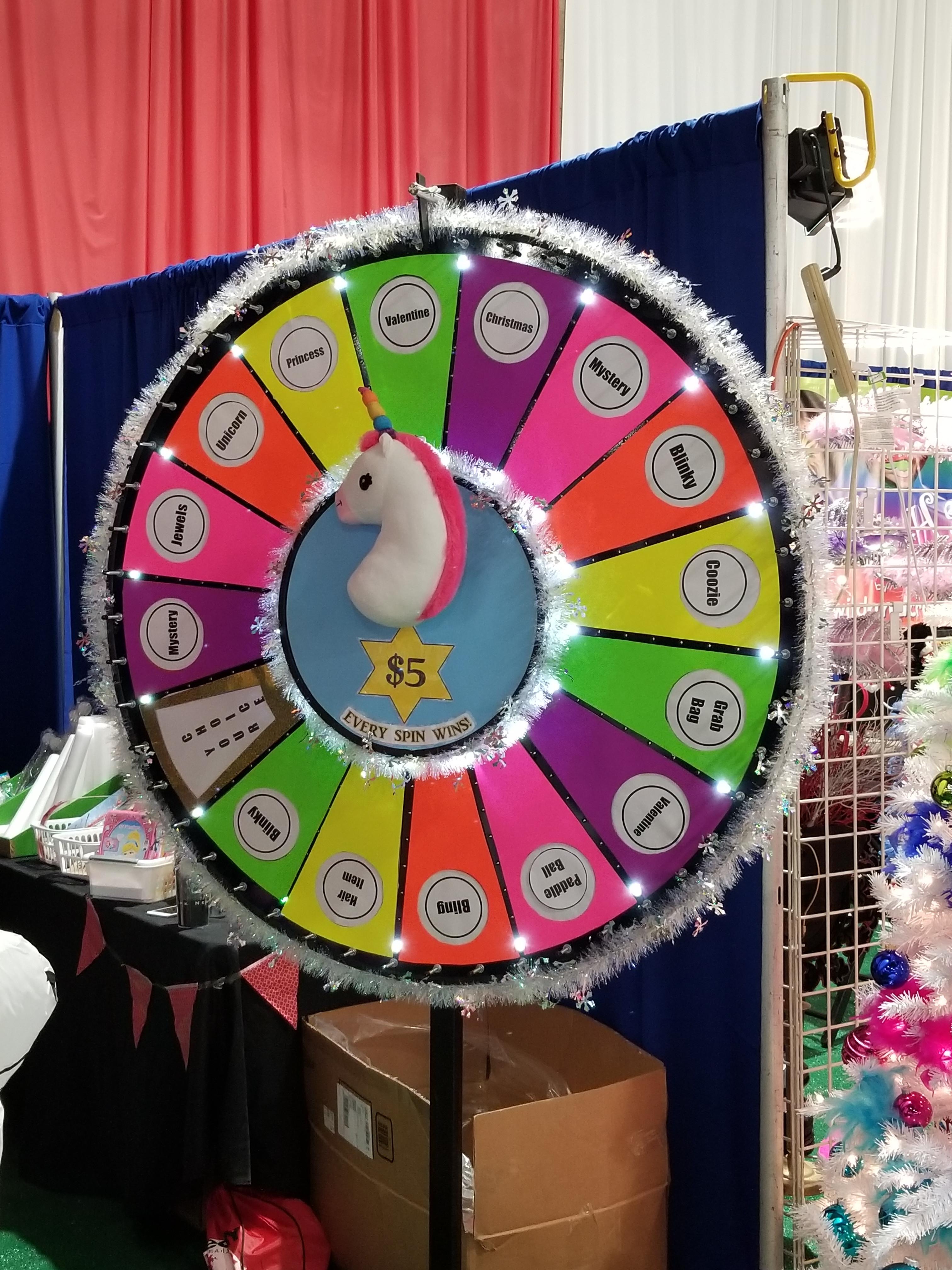 Spinning Wheel Rental