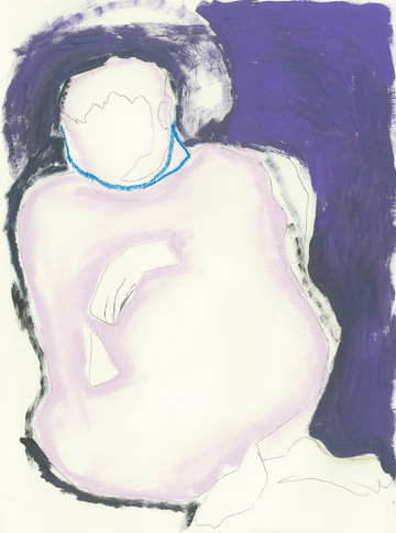 'George Sat Like This'  Giclée Fine Art Print