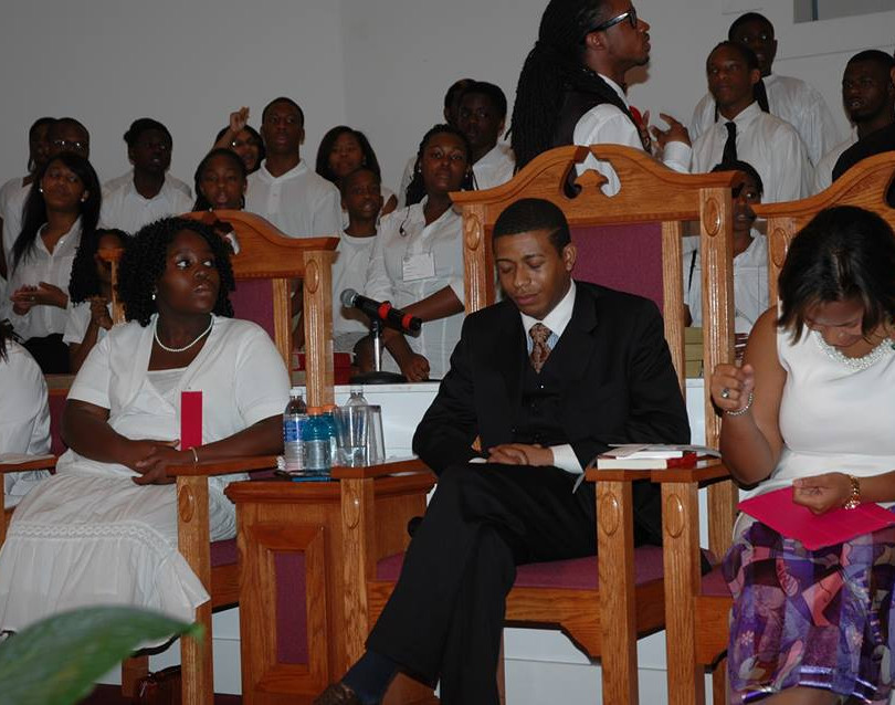 Preparing to speak at a church - 2014