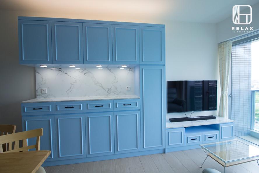 Classical TV cabinet
