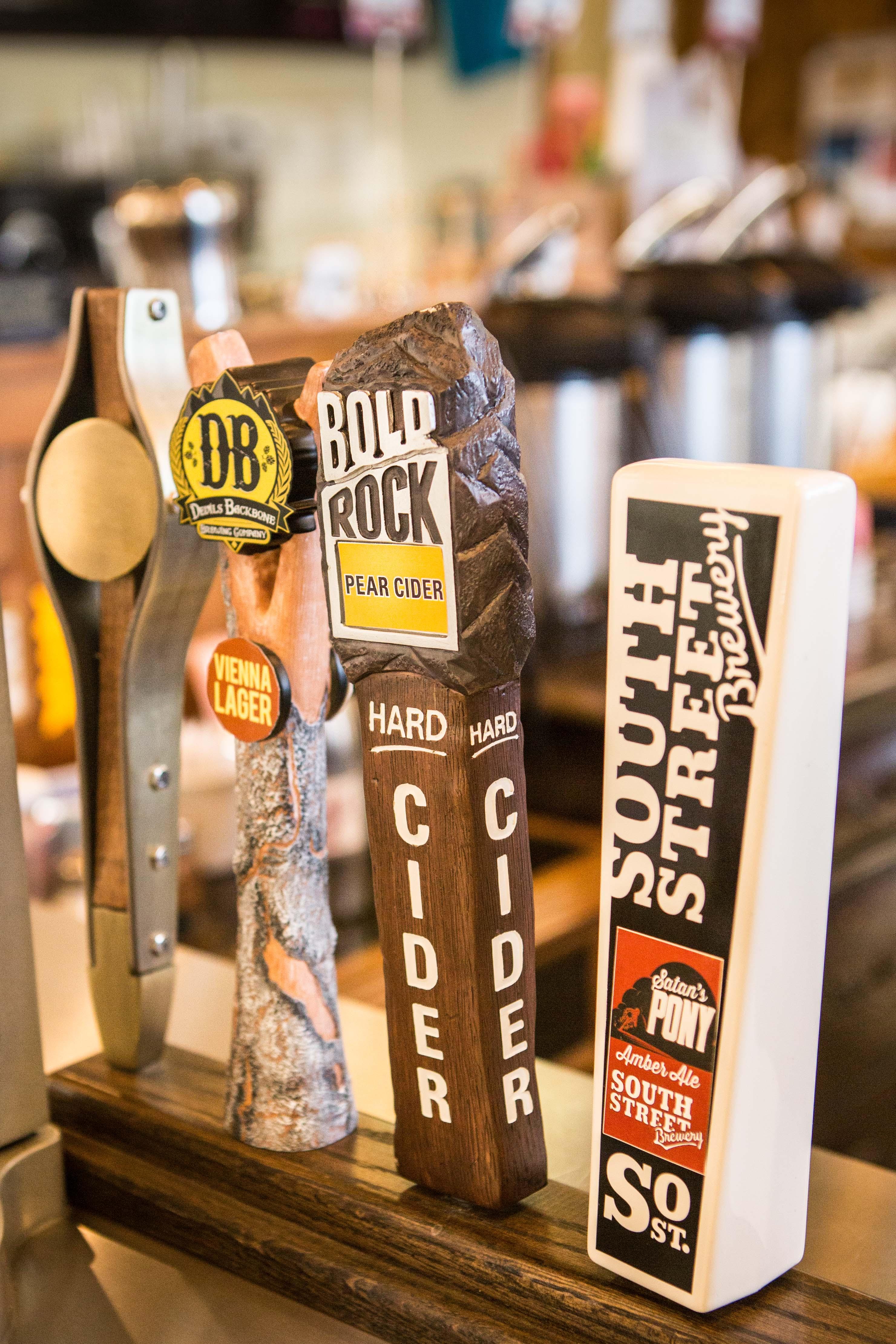 Craft beer on tap, Staunton, VA