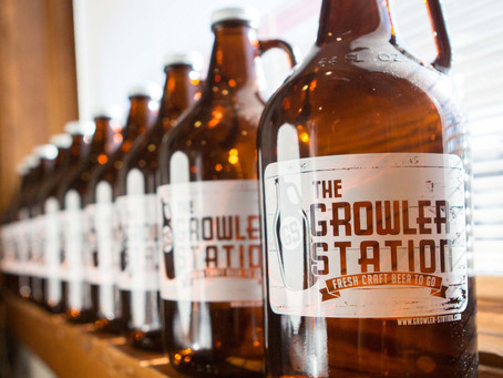 Our Growler Station Has A Stay Fresh Secret