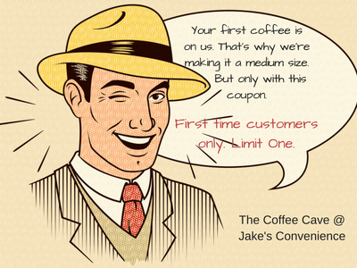 Coffee Cave Coffee Coupon