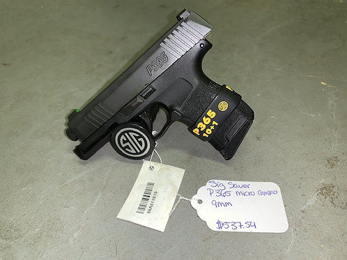 Sig Sauer P365 Micro Compact