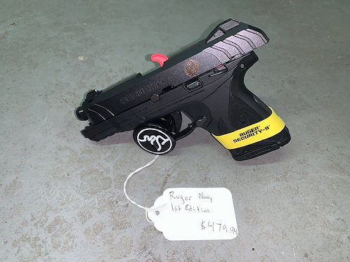 Ruger Navy Seal 1st Edition 9mm