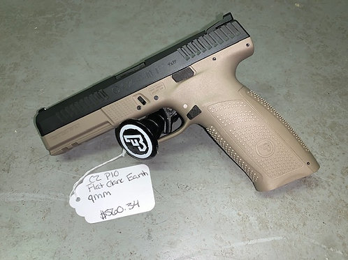 CZ P10 Flat Dark Earth 9mm
