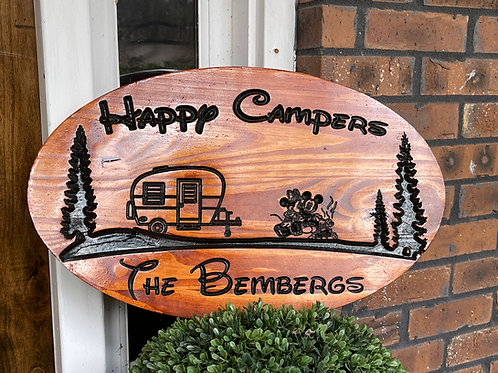 Disney Fort Wilderness RV Camping Sign