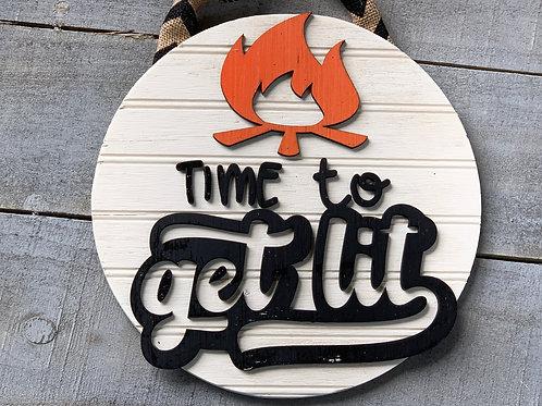 Get Lit Sign