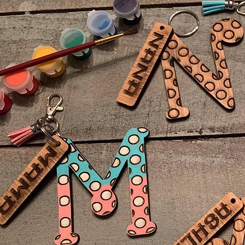 DIY Kit, Keychain Kit, Birthday Gift Idea, DIY Keychain Kit