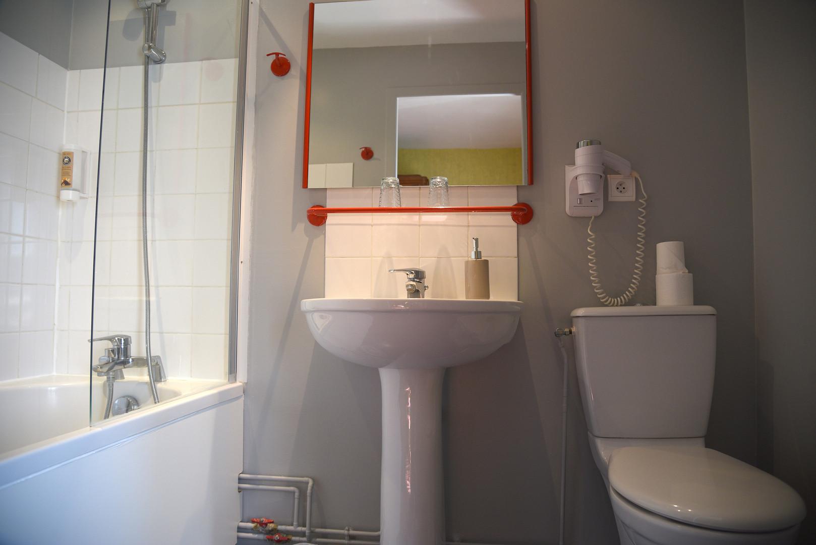 Salle de bain Hotel Le Baron