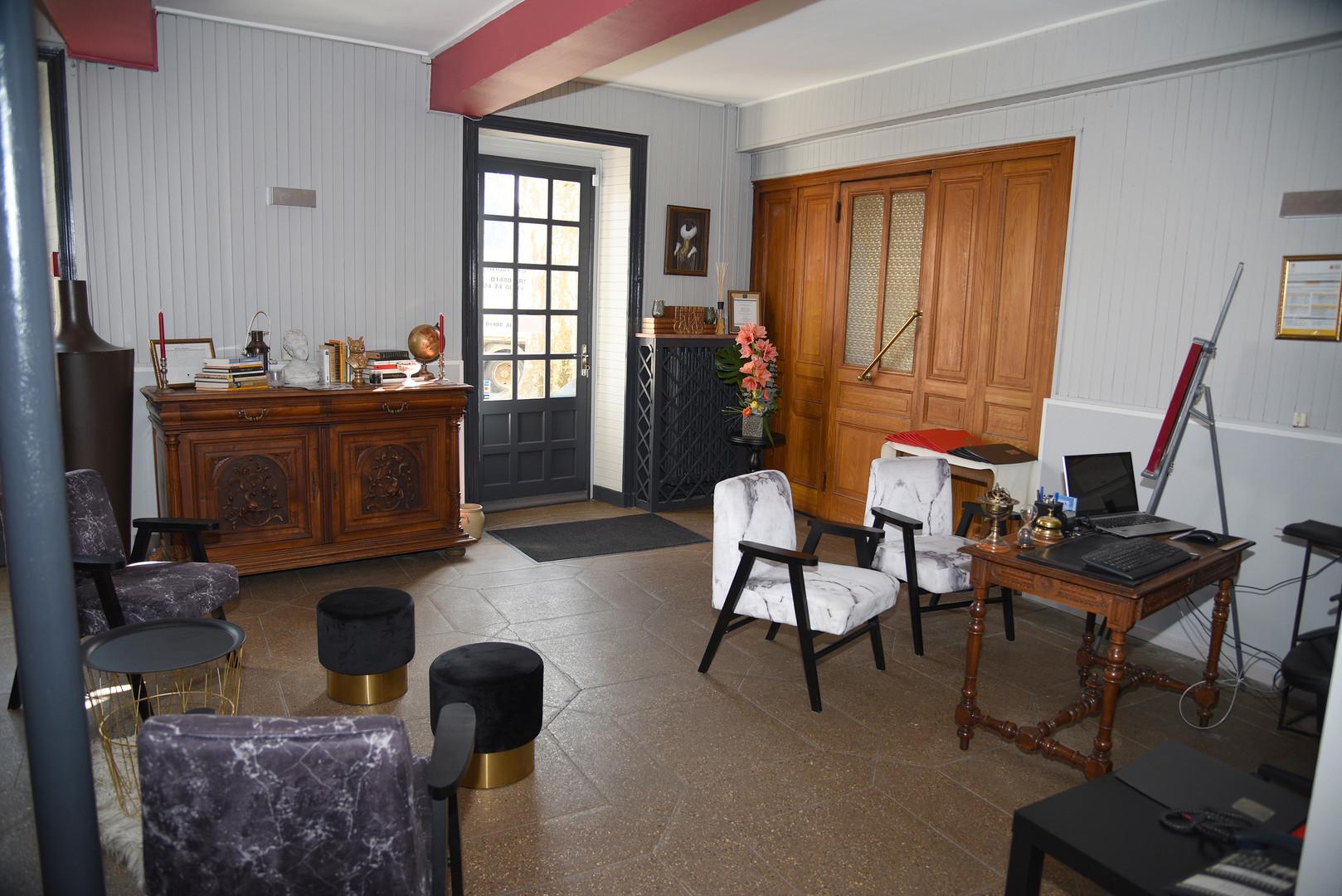 Réception Hôtel Le baron Crémieu