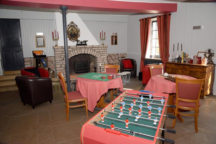 Salle de jeux Hôtel Le Baron Crémieu