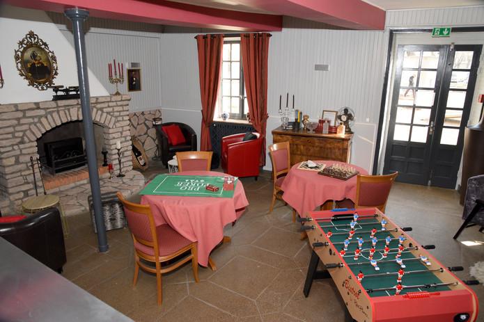 Salle de jeux Hôtel Le Baron Cremieu