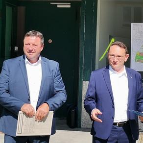 Staatssekretär Volkmar Vogel zu Besuch im Wahlkreis