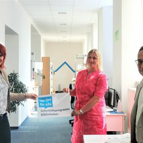 Lauinger Stadtbücherei kann sich mit Bundesmitteln Wunsch erfüllen