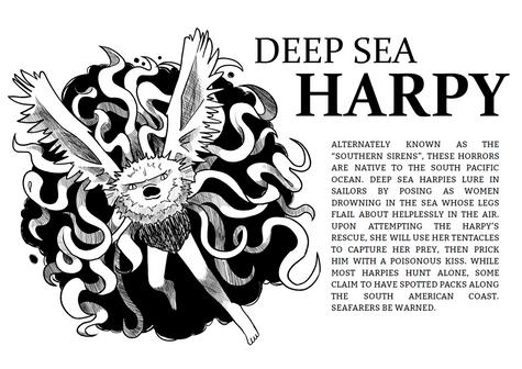 Deep Sea Harpy (2020)