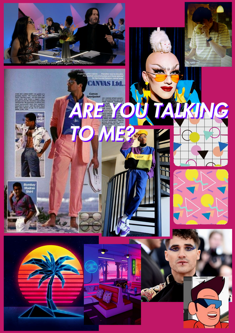 Are You Talking to Me? - Moodboard (2019)