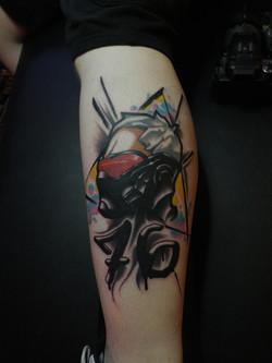 Soldier 76 / Overwatch Tattoo