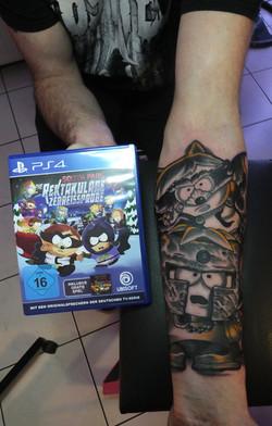 South Park Tattoo
