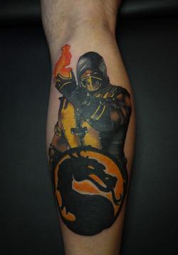 Mortal Kombat / Scorpion Tattoo