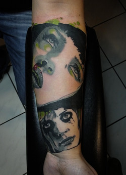 Pulp Fiction / Planet Terror Tattoo