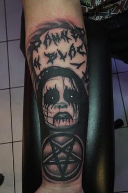 Black Metal Tattoo