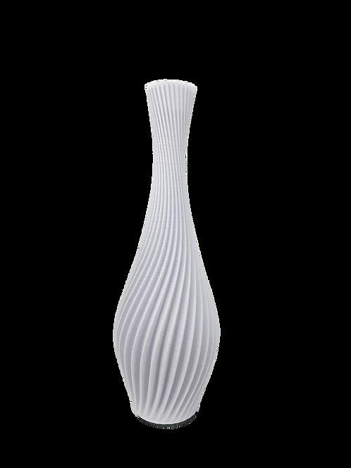 Spiral Vase White