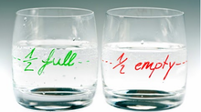 Do You See a Half Full Glass or a Half Empty Glass?