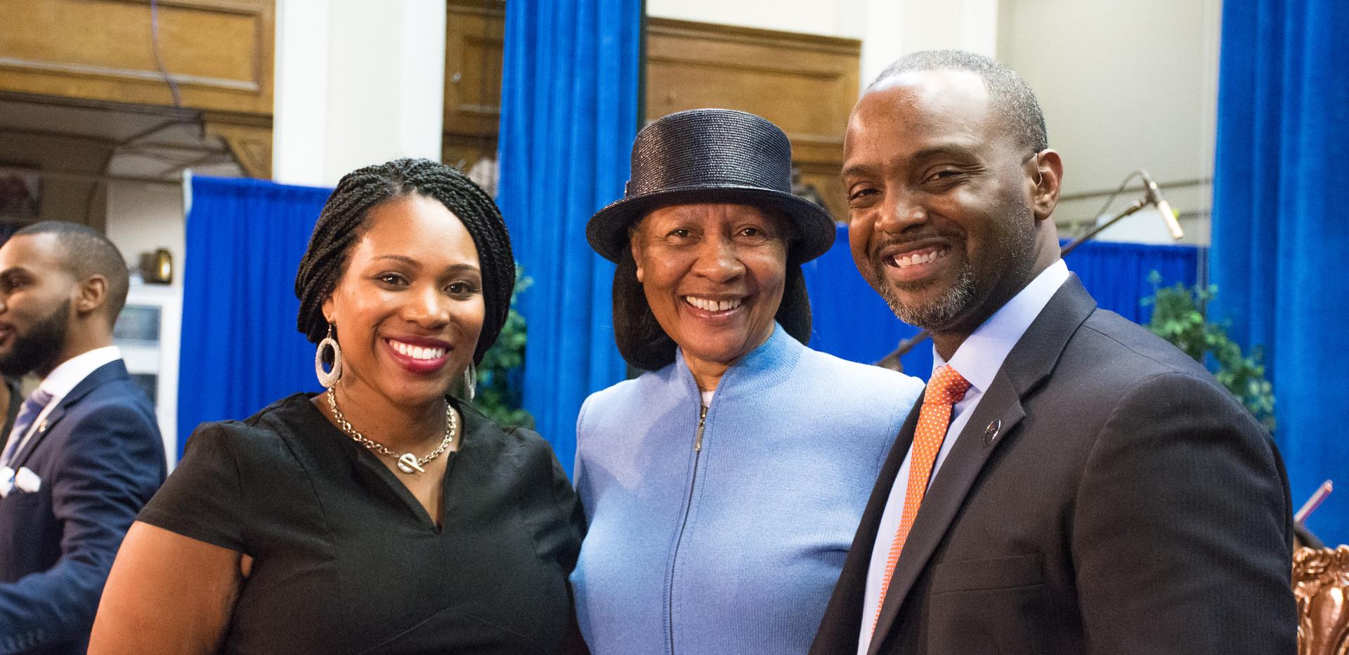 Dr. Fry Brown, Dr. Haysbert, Dr. Sabin D