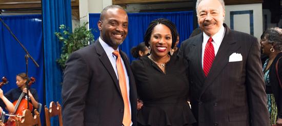 Dr. Sabn Duncan, Dr. Fry Brown, & Dr. Harvey.