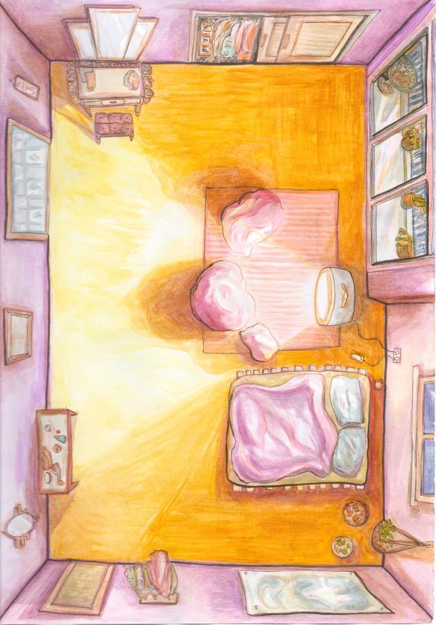 Cartoons at Midnight Background