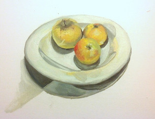 Still Life, Apples