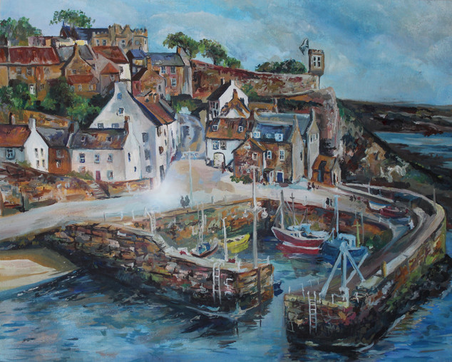 A Harbour in Scotland