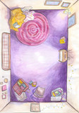 Anastasiya's Room BACKGROUND
