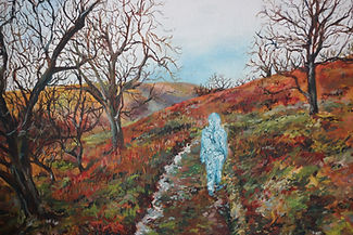 Oil Painting, Ghost of Cumbria