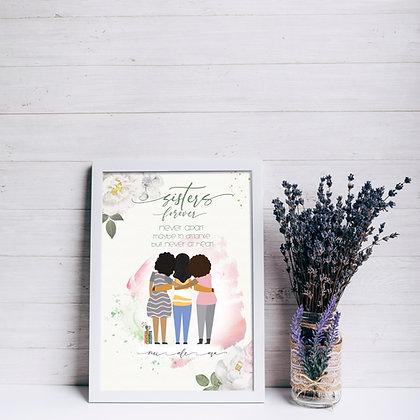 Diseño para Enmarcar - Sisters Forever