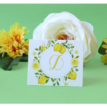 Set de 3 Tarjetas - Limon