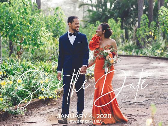 Save the Date - Elegant