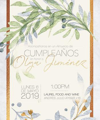 Invitación Evento Ramos Verdes