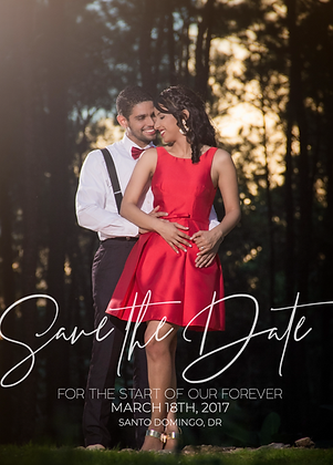 Save the Date - Romantic