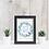 Thumbnail: Diseño para Enmarcar - Flores Azules