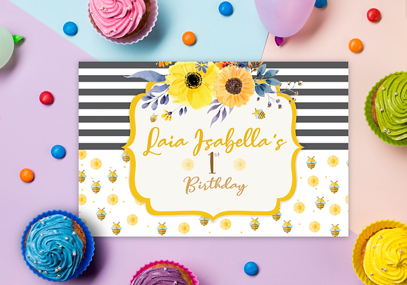 Individual - Cumpleaños Infantil Abejitas