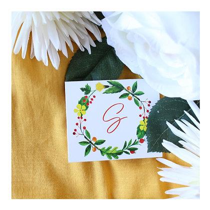 Set de 3 Tarjetas - Floral