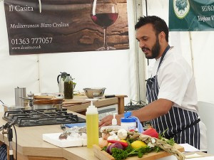 Il Casita at the 6th Annual Crediton Food Festival
